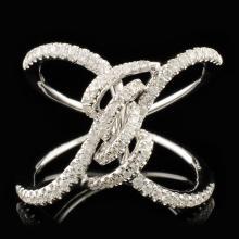 14K Gold 0.44ctw Diamond Ring