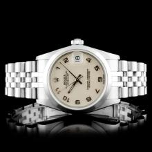 Rolex DateJust SS 78240 31MM Wristwatch
