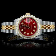 Rolex DateJust Ladies 1.50ct Diamond Wristwatch