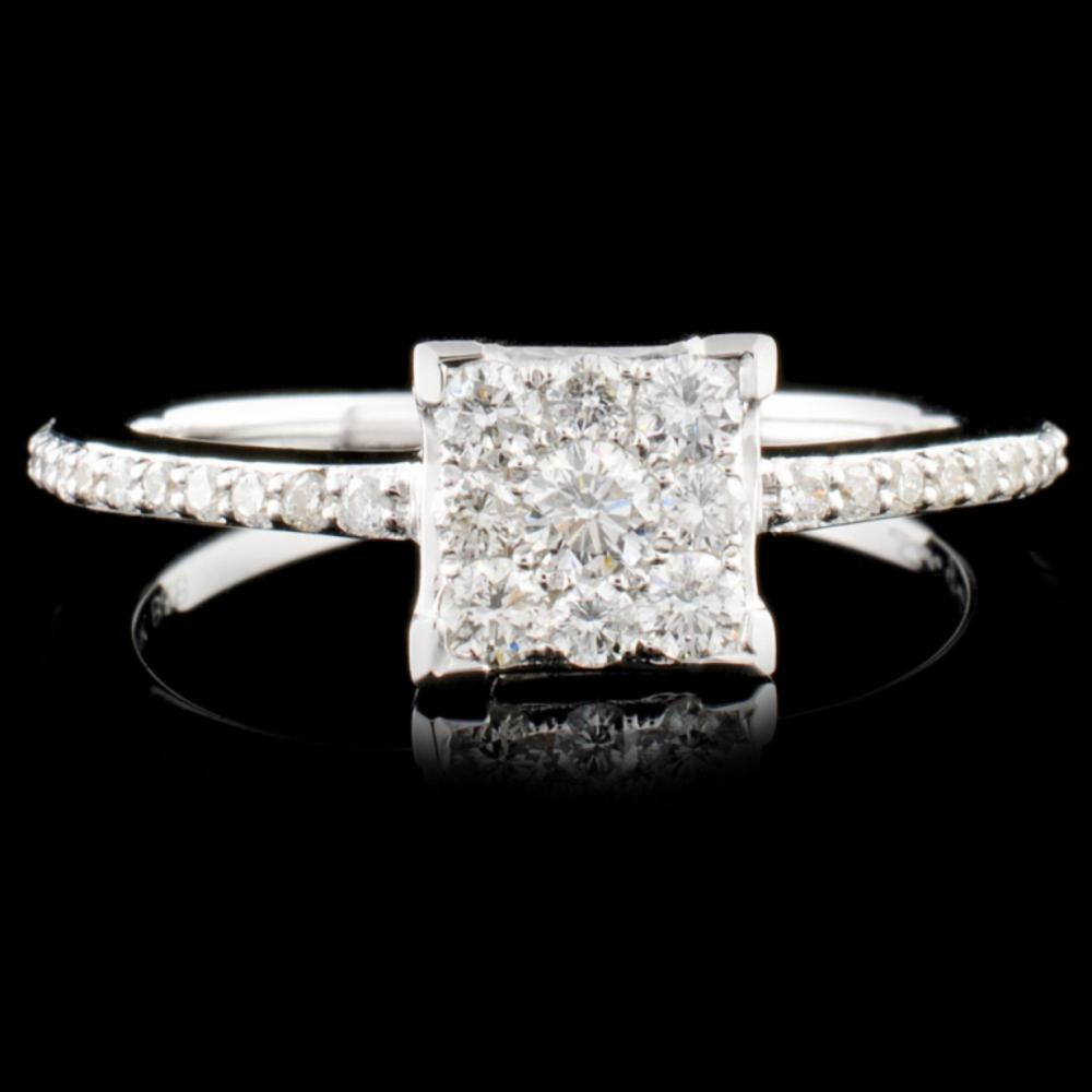 14K Gold 0.40ctw Diamond Ring