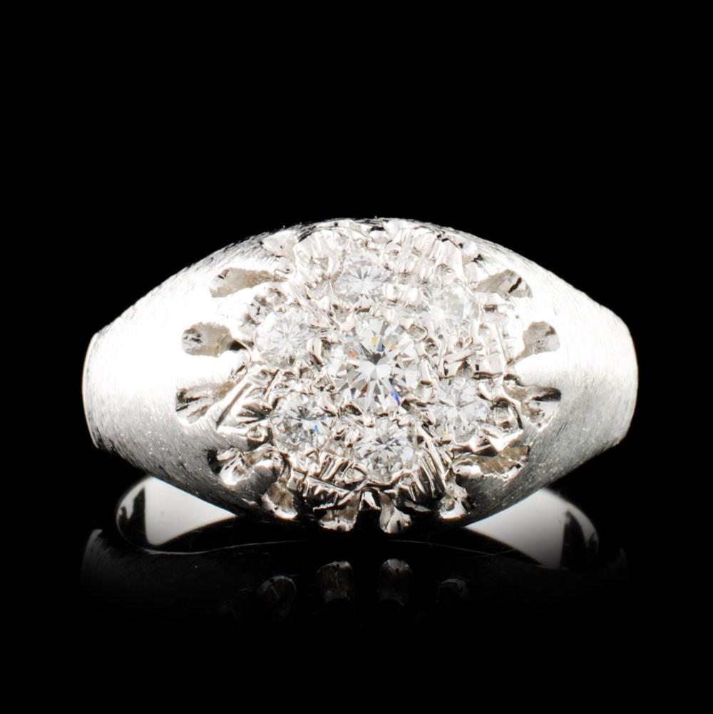 14K Gold 0.36ctw Diamond Ring