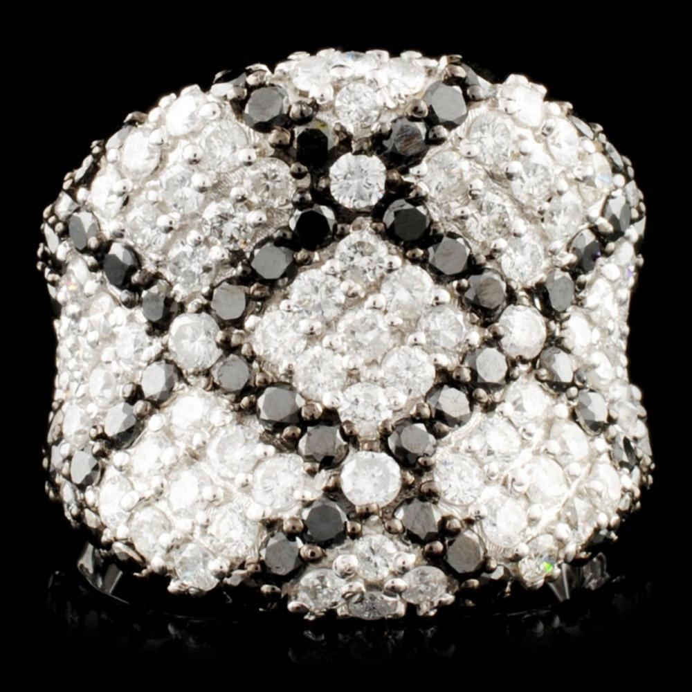 14K Gold 2.89ctw Fancy Color Diamond Ring