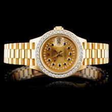 Rolex Presidential Diamond Ladies Watch