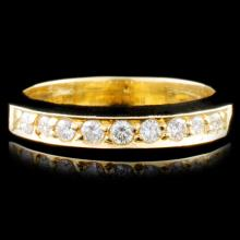 14K Gold 0.38ctw Diamond Ring
