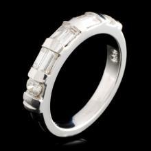 Platinum 0.56ctw Diamond Ring