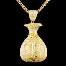 10K Gold 2.15ctw Diamond Necklace