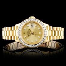 Rolex Presidential 1.50ct Diamond Ladies Watch