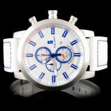 Polanti SS White Rogue Wristwatch