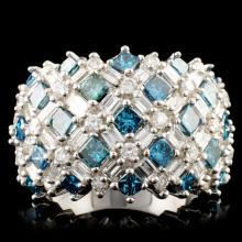18K Gold 3.35ctw Diamond Ring