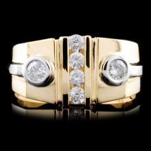14K Gold 0.50ctw Diamond Ring