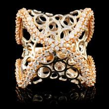 18K Gold 2.85ctw Diamond Ring