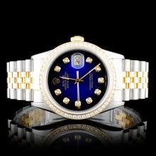Rolex DateJust 1.50ct Diamond Wristwatch