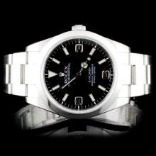 Rolex SS Explorer Wristwatch