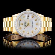Rolex Y/G Day-Date Presidential Men's Wristwatch
