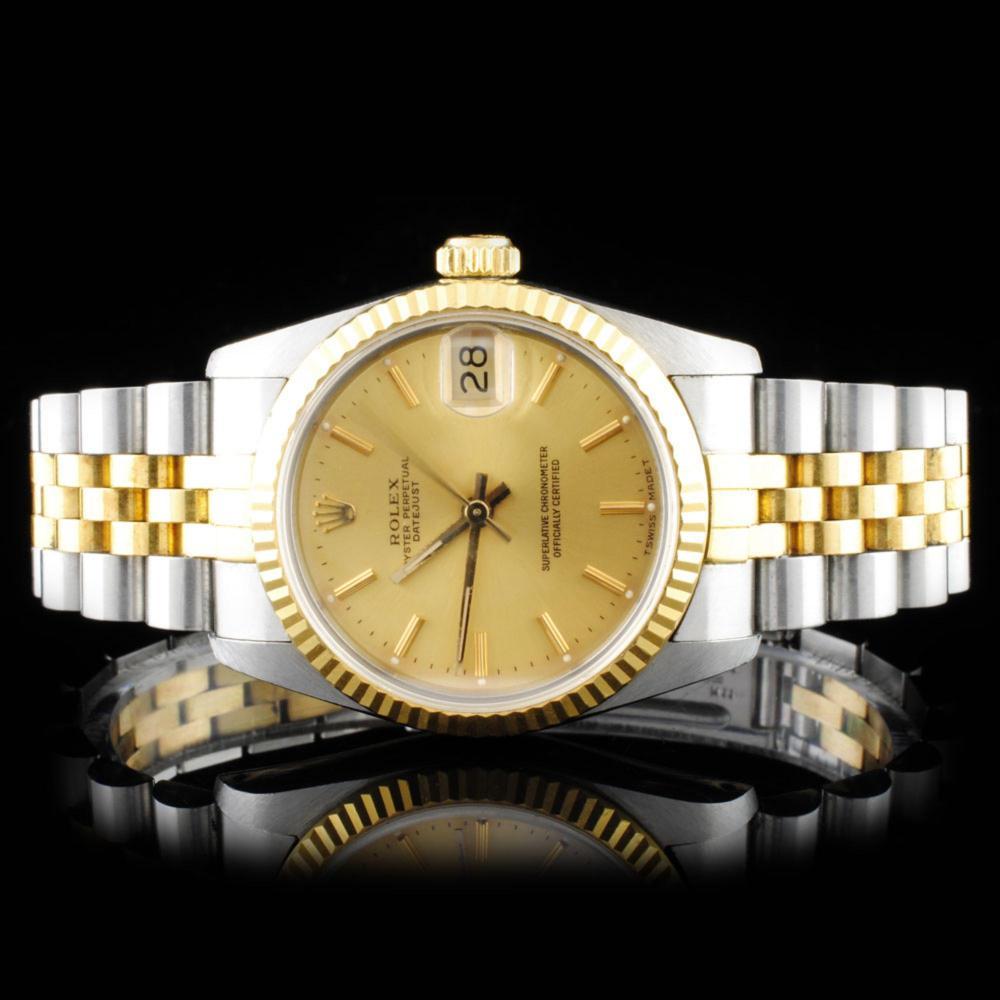 Rolex YG/SS DateJust Mid-size 31MM Ladies Watch