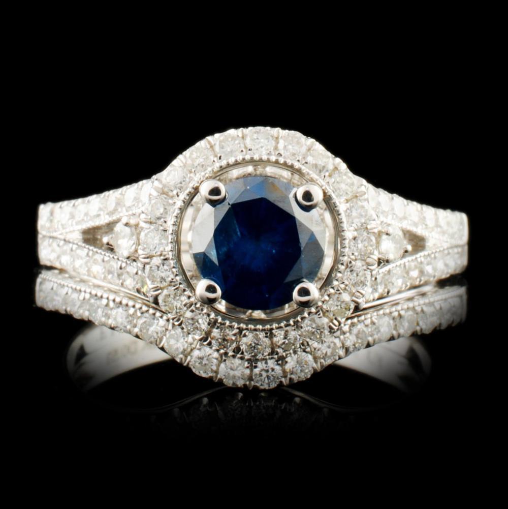 18K Gold 1.35ctw Diamond Ring