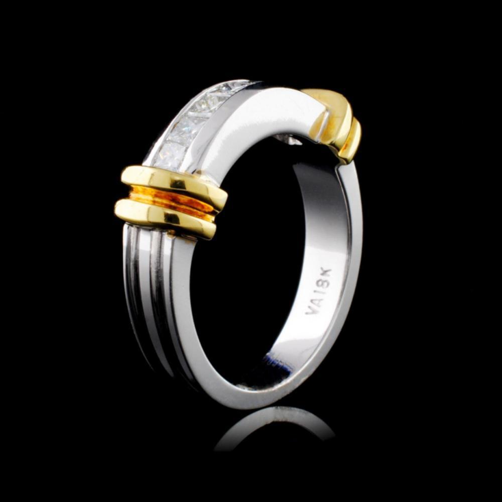 18K White Gold 0.54ctw Diamond Ring