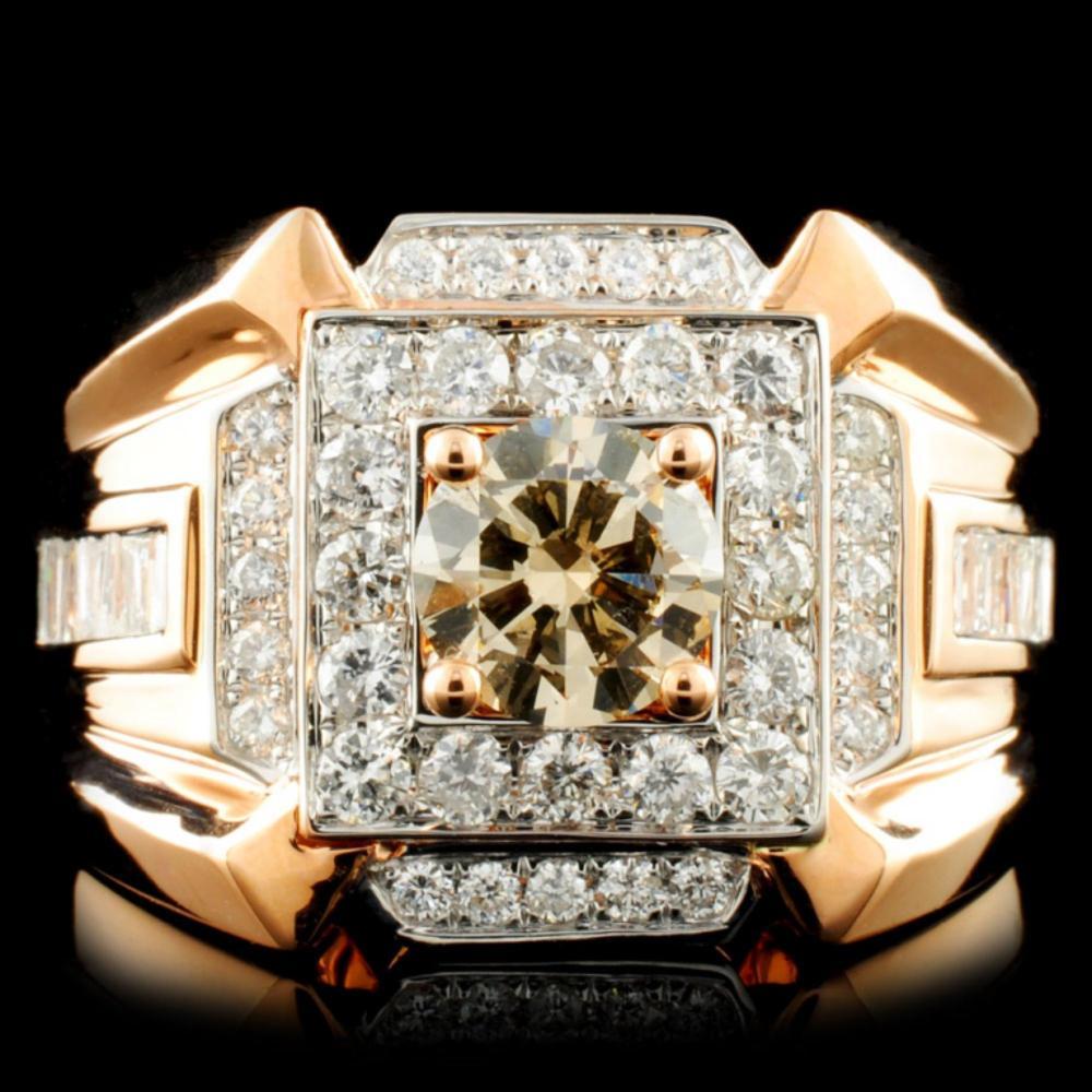 18K Gold 2.04ctw Diamond Ring