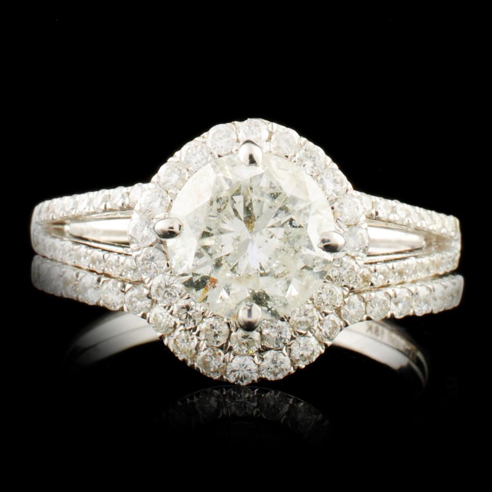 18K Gold 2.29ctw Diamond Ring