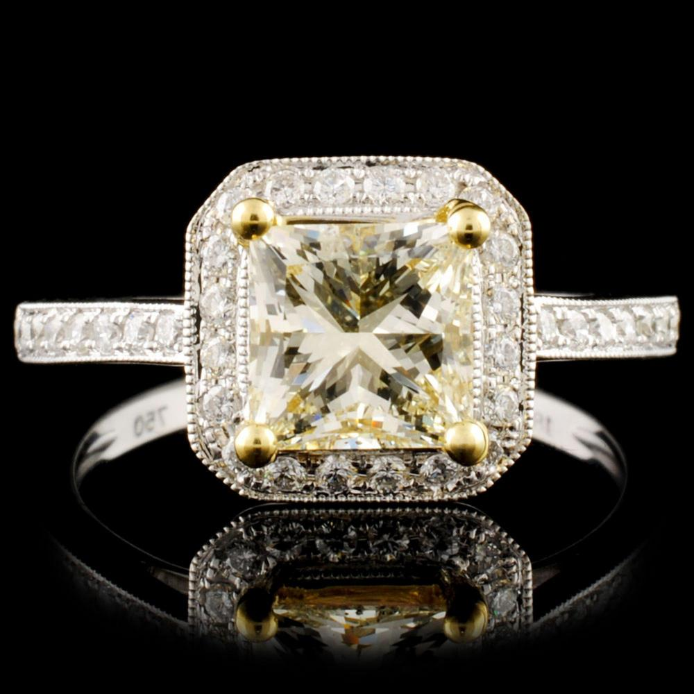18K Gold 1.79ctw Diamond Ring
