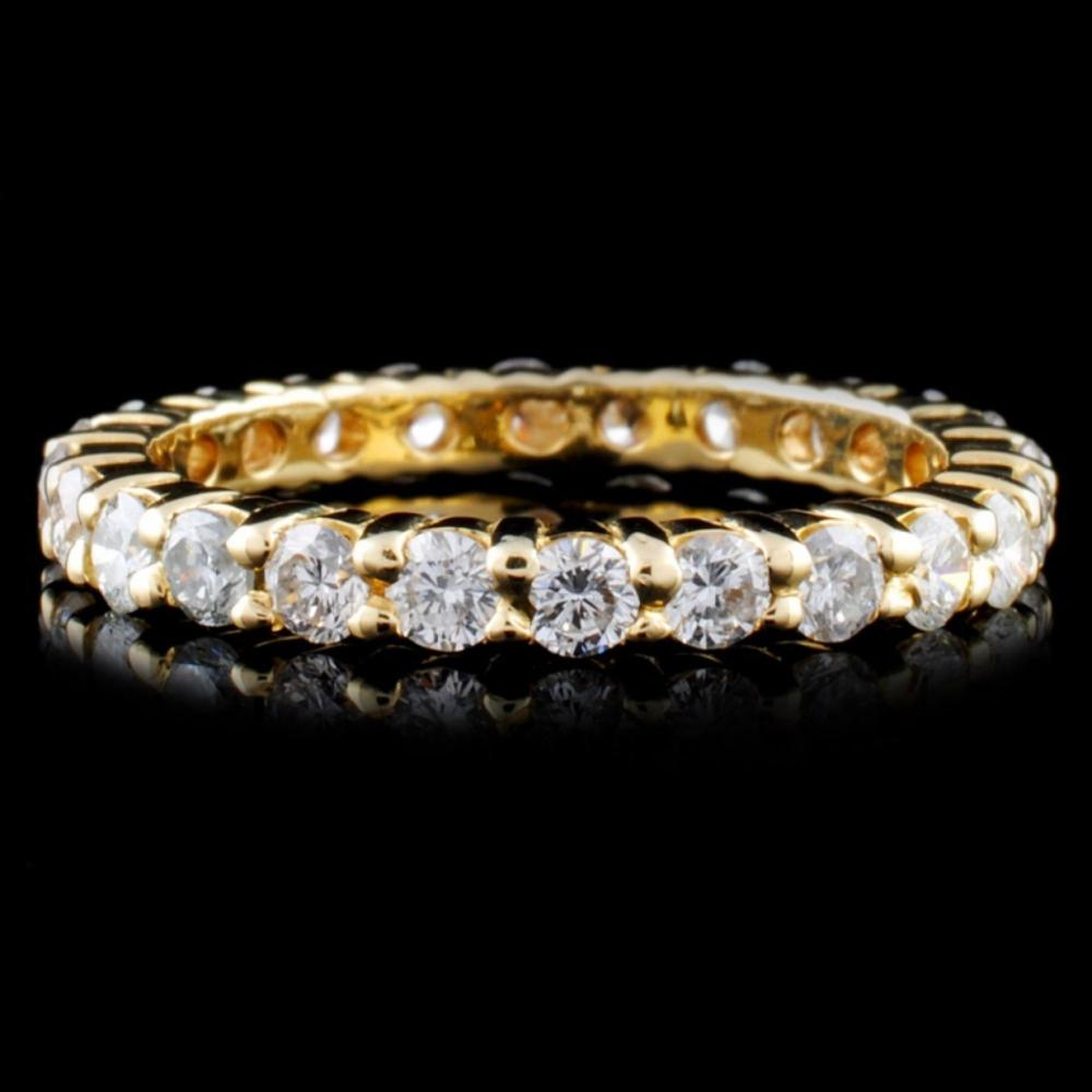 14K Gold 1.22ctw Diamond Ring