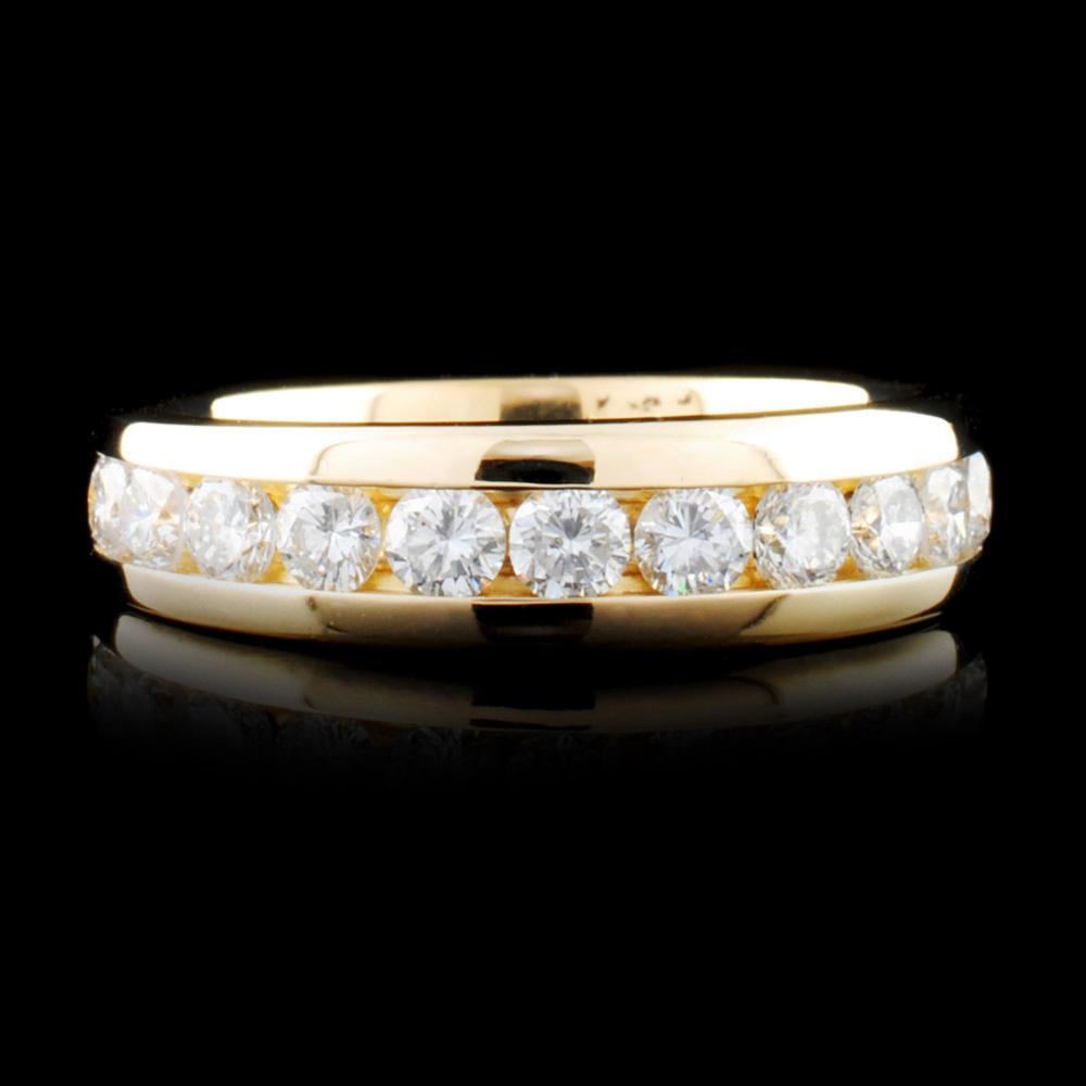 14K Gold 1.12ctw Diamond Ring