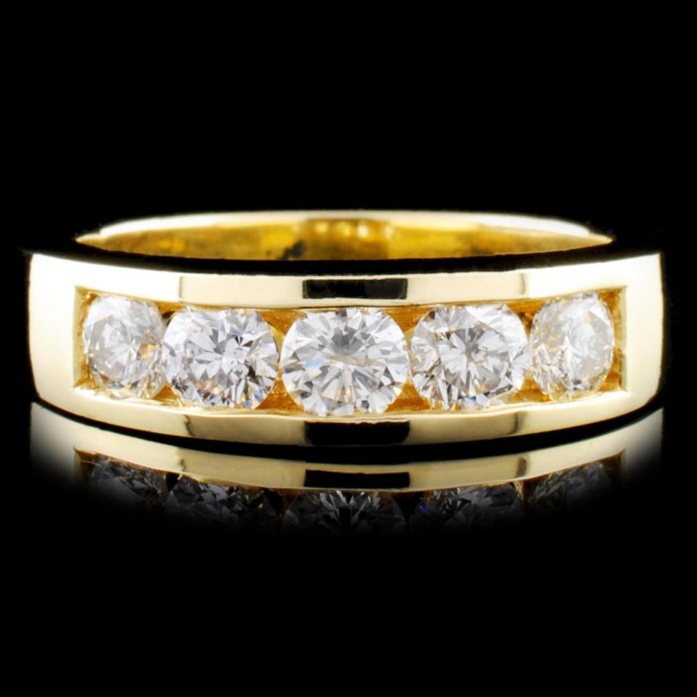 14K Gold 1.00ctw Diamond Ring