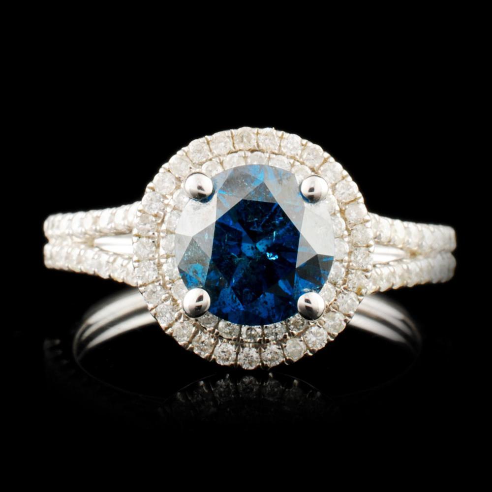 18K Gold 2.00ctw Diamond Ring