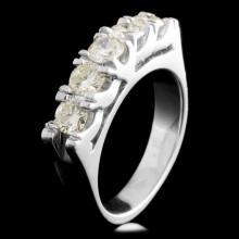 Platinum 1.00ctw Diamond Ring