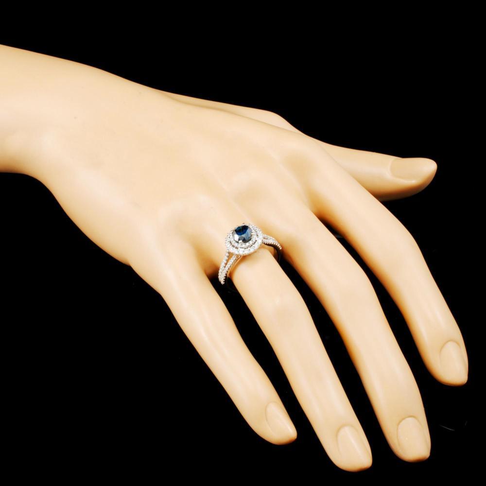 Lot 24: 18K Gold 1.31ctw Diamond Ring