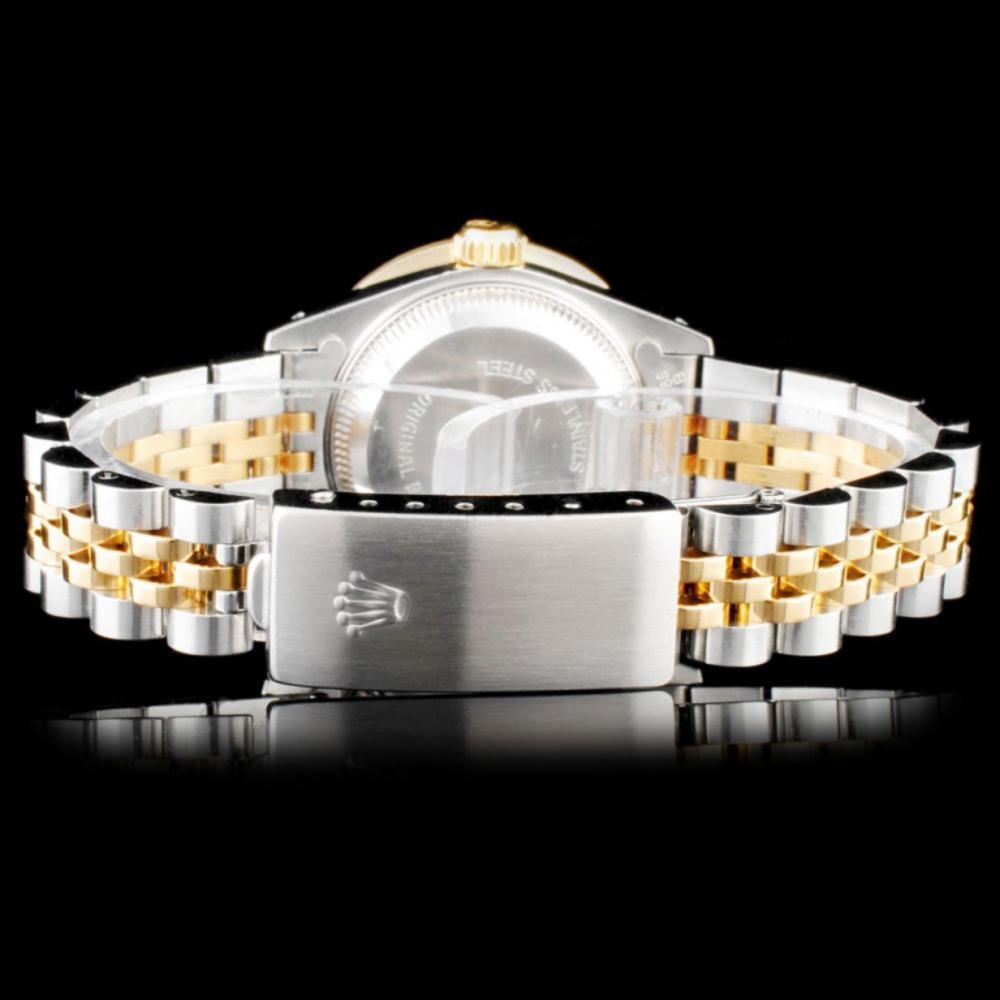 Lot 79: Rolex DateJust Ladies Diamond Wristwatch