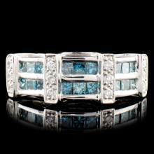 Lot 91: 18K Gold 0.68ctw Diamond Ring