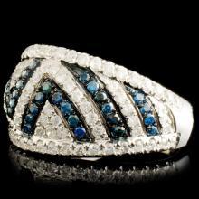 Lot 101: 18K Gold 1.10ctw Diamond Ring