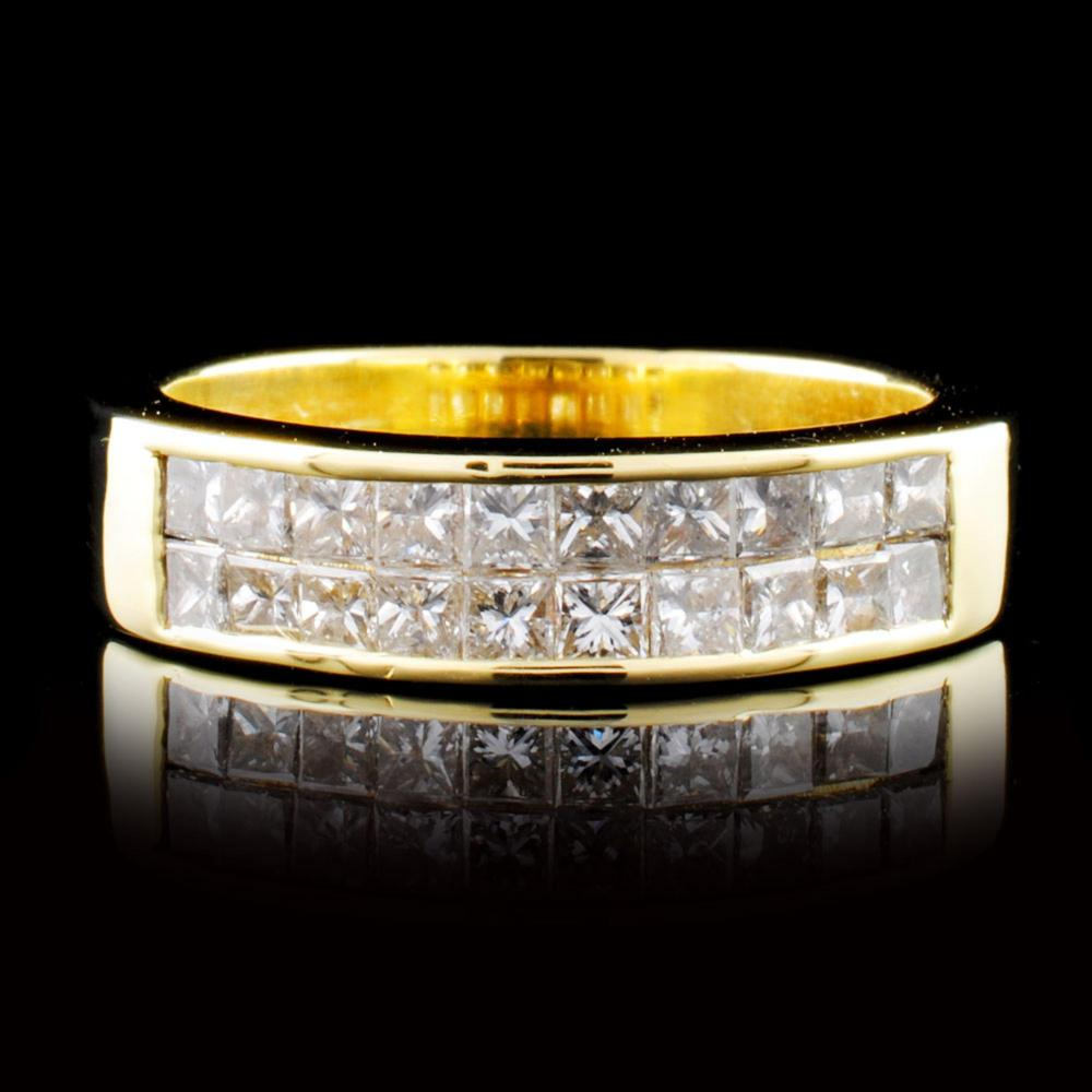 18K Gold 1.20ctw Diamond Ring