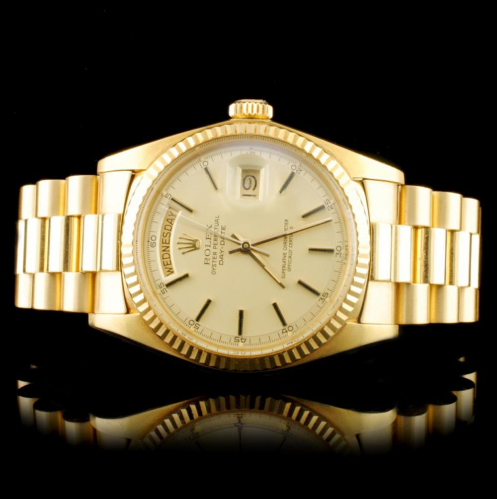 Rolex Day-Date 18K YG 36MM Wristwatch