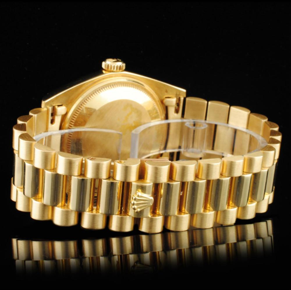 Lot 129: Rolex Day-Date 18K YG 36MM Wristwatch