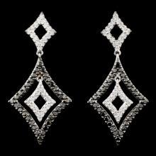 Lot 172: 14K Gold 1.06ctw Fancy Color Diamond Earrings