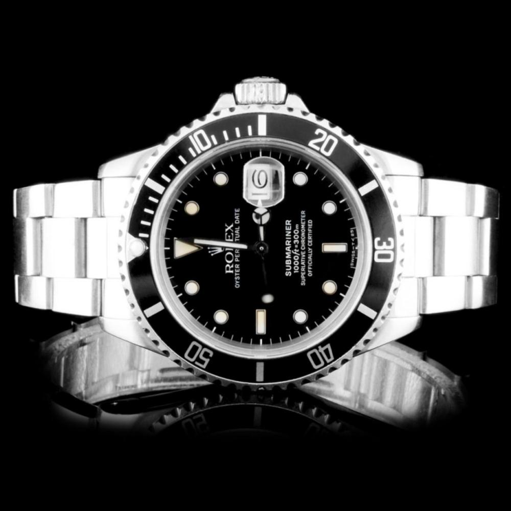 Rolex SS Submariner 40MM Wristwatch
