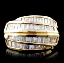 14K Yellow Gold 1.68ctw Diamond Ring