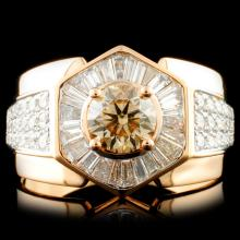 18k Gold 2.22ctw Diamond Ring