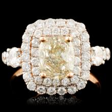 18K Gold 2.11ctw Diamond Ring