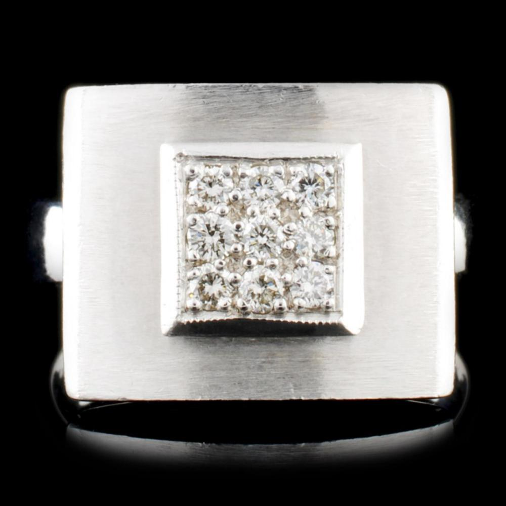 14K Gold 0.20ctw Diamond Ring