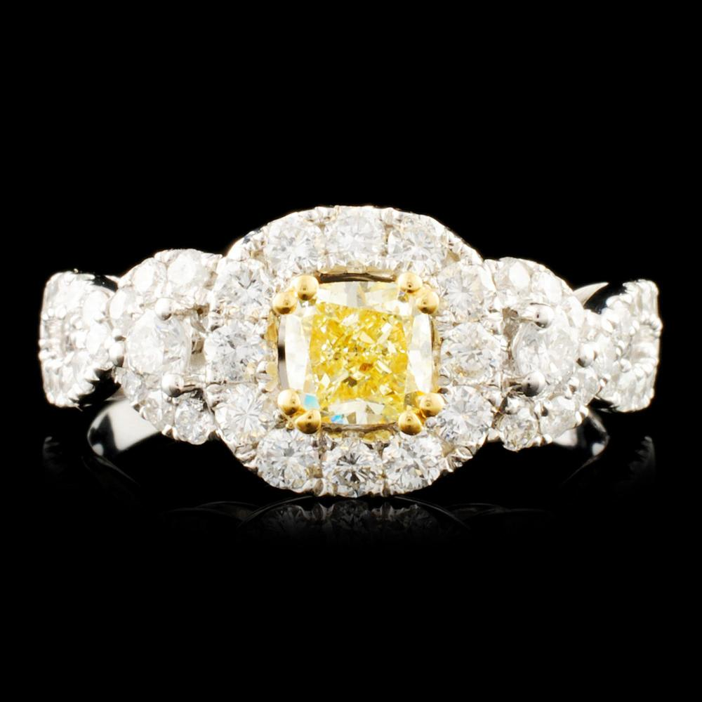 18K Gold 1.31ctw Diamond Ring