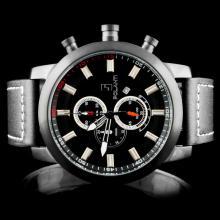Polanti SS Black Rogue Wristwatch