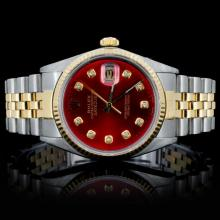 Rolex YS/SS DateJust Men's Wristwatch