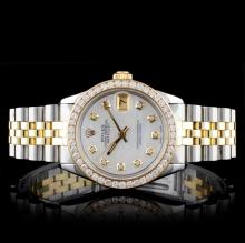Rolex DateJust 1.50ct Diamond Mid-Size Wristwatch