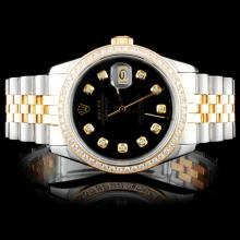 Rolex DateJust 1.00ct Diamond Wristwatch