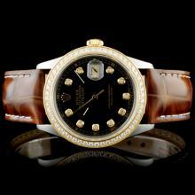 Rolex DateJust YG/SS 1.50ct Diamond Wristwatch