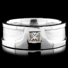 18K Gold 0.39ct Diamond Ring