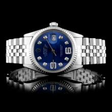 Rolex SS DateJust Men's Wristwatch